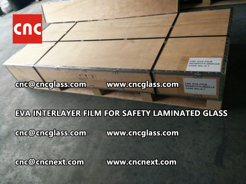 EVA INTERLAYER FILM FOR LAMINATED GLASS SAFETY GLAZING (11)