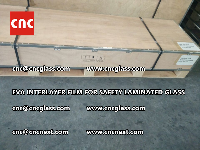 EVA INTERLAYER FILM FOR LAMINATED GLASS SAFETY GLAZING (4)