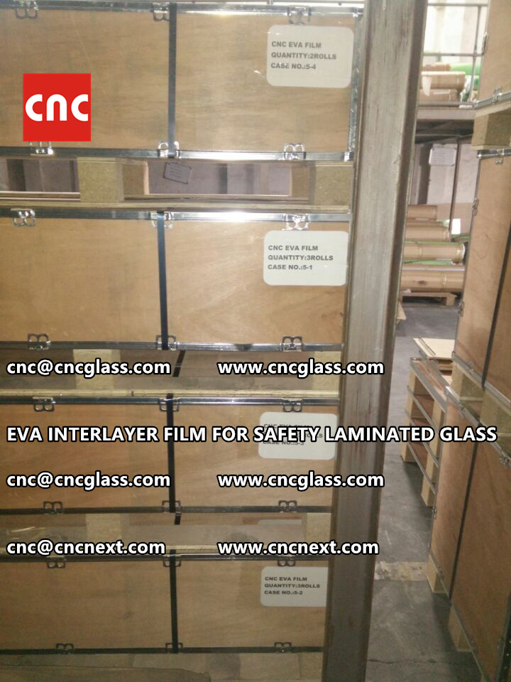 EVA INTERLAYER FILM FOR LAMINATED GLASS SAFETY GLAZING (5)
