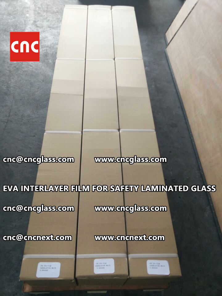 EVA INTERLAYER FILM FOR LAMINATED GLASS SAFETY GLAZING (7)