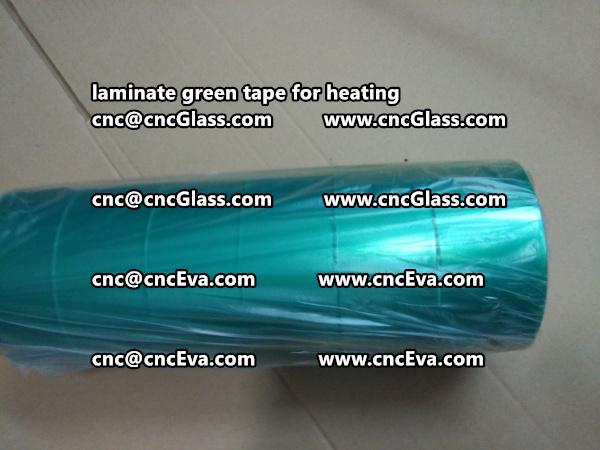 green tape PET TAPE for solar BIPV laminate (1)