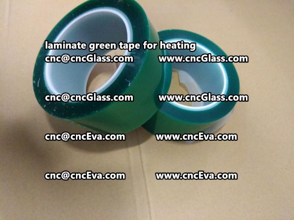 green tape PET TAPE for solar BIPV laminate (13)