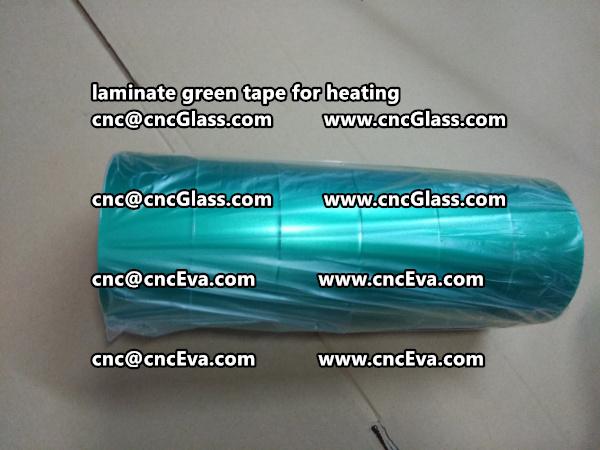green tape PET TAPE for solar BIPV laminate (25)