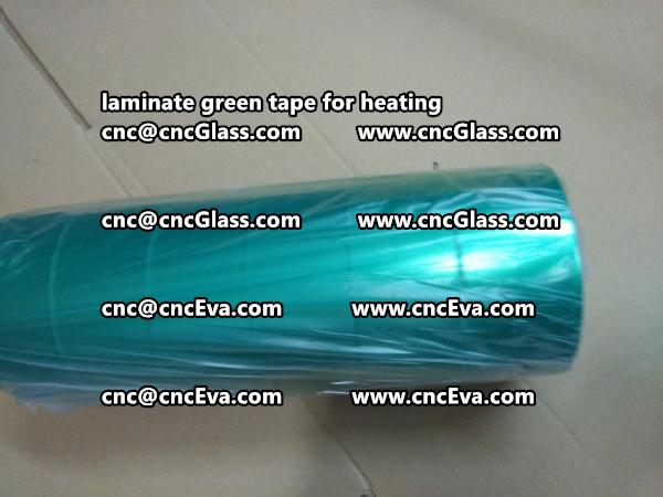 green tape PET TAPE for solar BIPV laminate (28)
