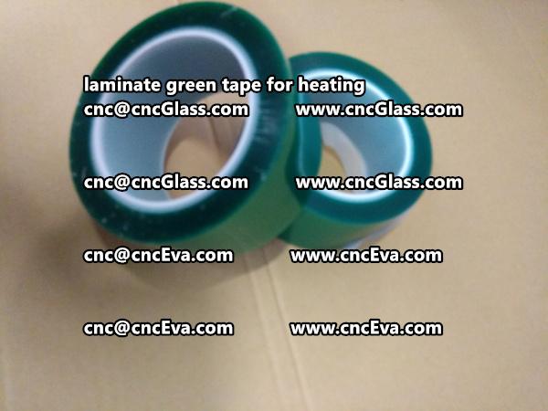 green tape PET TAPE for solar BIPV laminate (6)