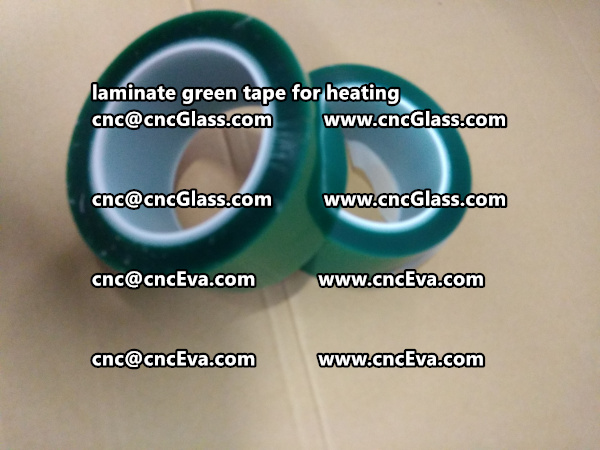 green tape PET TAPE for solar BIPV laminate (7)