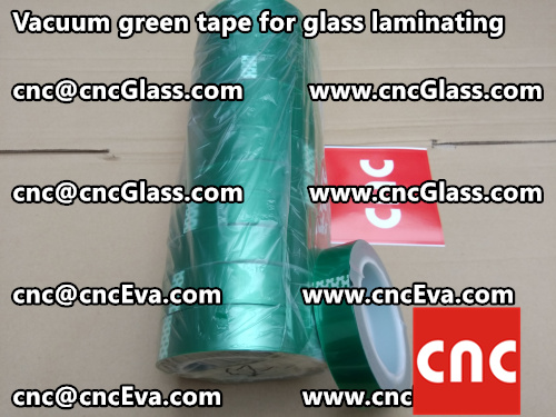 Vacuum green tape for glass laminating  (5)