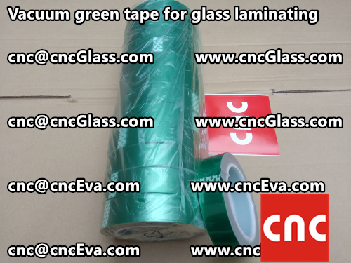 Vacuum green tape for glass laminating  (6)
